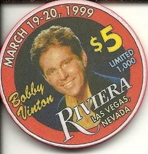 $5 Riviera Bobby casino chip